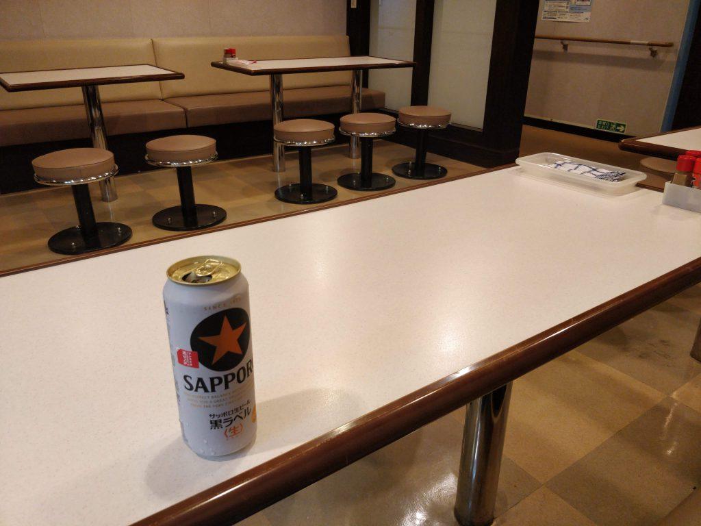 船室とビール