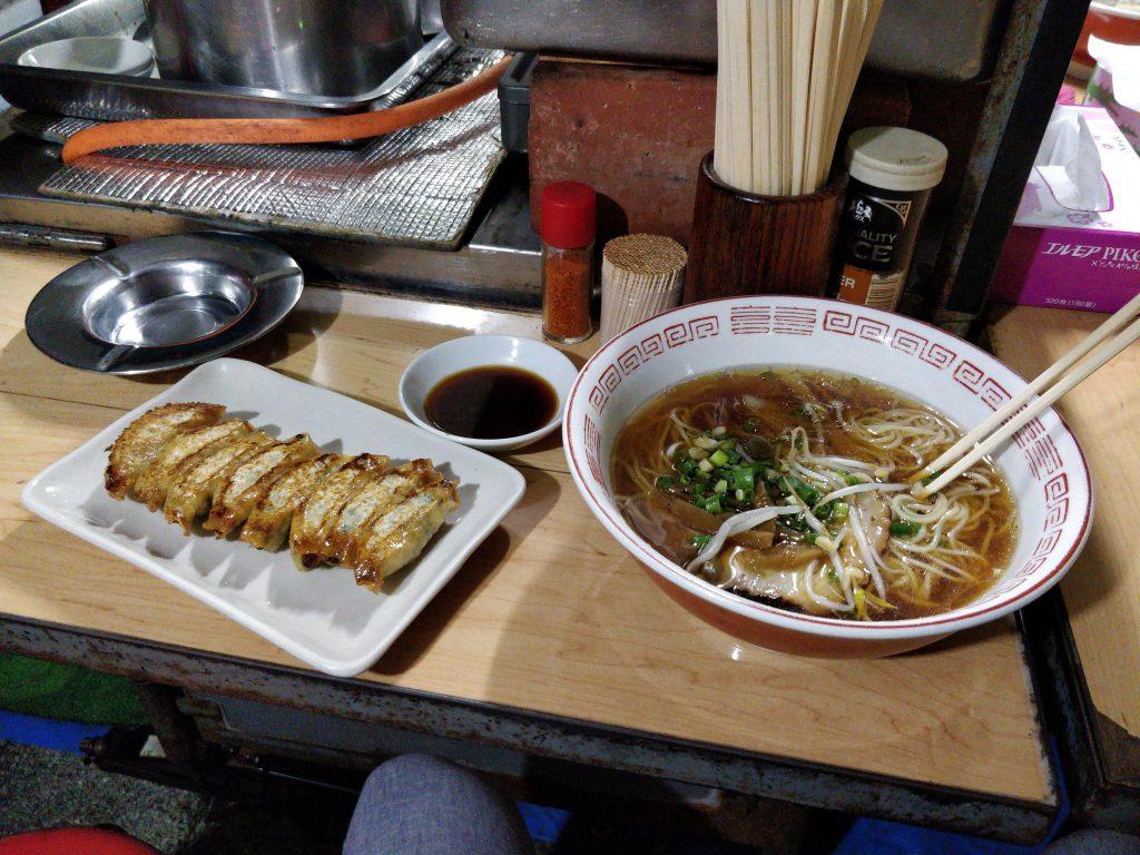 松ちゃんのラーメンと餃子
